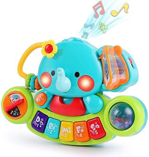 LUKAT Baby Musik Spielzeug für 6 9 12 18 Monate...