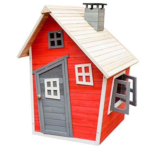 Umweltfreundliches Spielhaus für Kinder aus Fichtenholz...