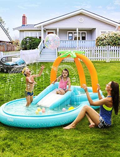 Sable Play Center Wasserspielcenter Kinder Aufstellpool Planschbecken...