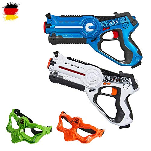 HSP Himoto Laser-Tag Pistole als Battle-Set mit 2X...