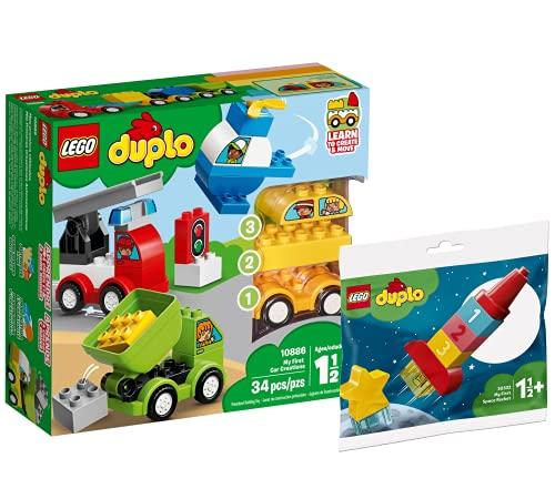 Collectix Lego Set - DUPLO Meine ersten Fahrzeuge 10886 + DUPLO Meine...