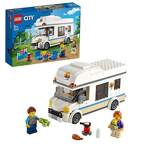 LEGO 60283 City Starke Fahrzeuge Ferien-Wohnmobil Spielzeug,...