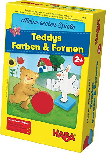 Haba 5878 - Meine ersten Spiele Teddys Farben und...
