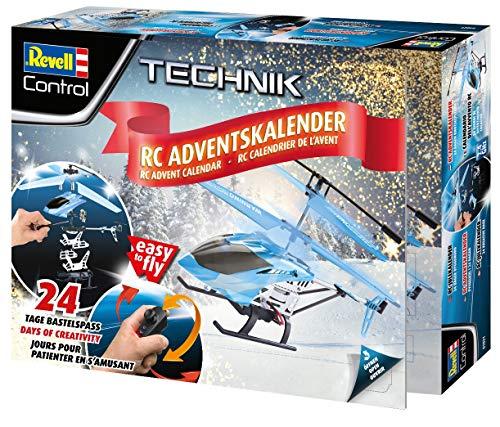 Revell Control 01021 Adventskalender RC Helikopter mit Motion-Control,...