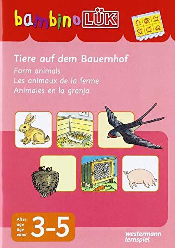 LÜK. Bambino. Tiere auf dem Bauernhof.