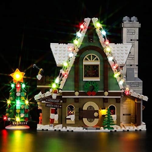 BRIKSMAX Led Lighting Kit für Lego Saisonal Elf Clubhouse, Led Light...
