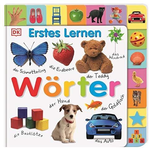 Wörter (Erstes Lernen): Pappbilderbuch mit Griff-Register und über...