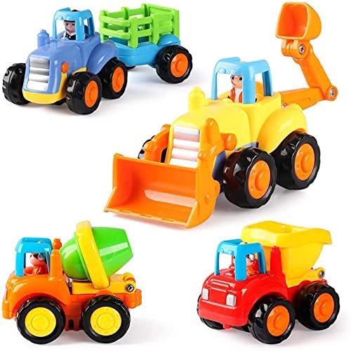 GoStock Baby Spielzeugauto Spielsachen Baufahrzeuge für Kinder 12 18...