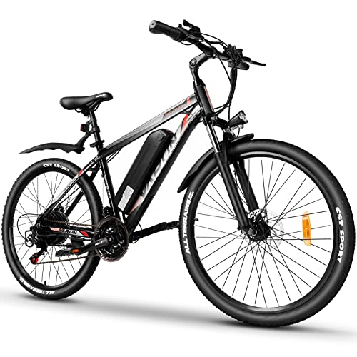 VARUN E Bike E-Mountainbike Alu 26 Zoll für Herren Damen   Shimano 21...