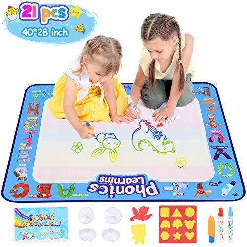 dmazing Spielzeug ab 2 3 4 5 6 Jahre Mädchen, Aqua Doodle Baby Spielzeug 12-18 Monats Weihnachts Geschenke...