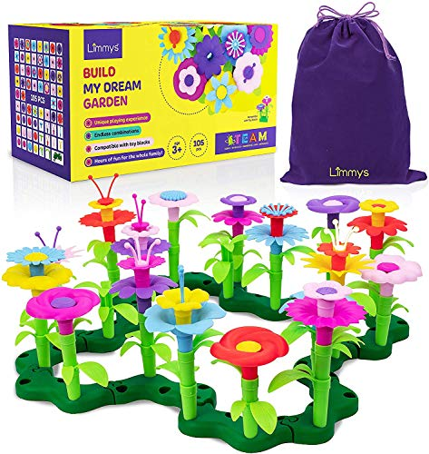 Limmys 105-Teile-Set 'Build My Dream Garden'...