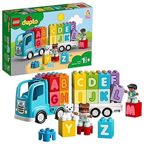 LEGO 10915 DUPLO Mein erster ABC-Lastwagen, Spielzeug für Kleinkinder...