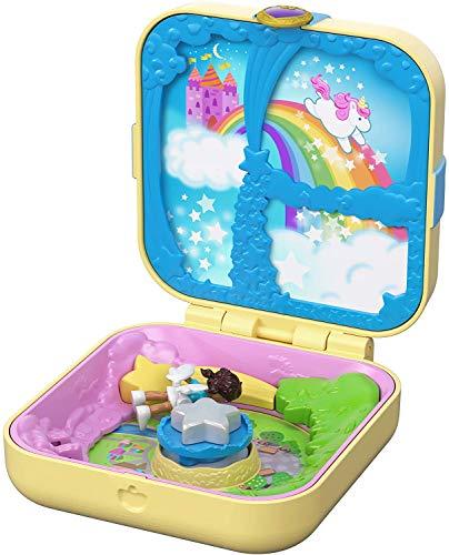 Mattel spielset Polly Pocket Einhorn Utopia 9 cm