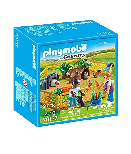 PLAYMOBIL Country 70137 Kleintiere im Freigehege, ab 4 Jahren