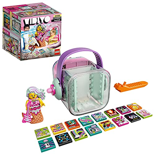 Sinoeem LEGO VIDIYO Candy Mermaid Beatbox 43102 Bauset mit Minifigur,...