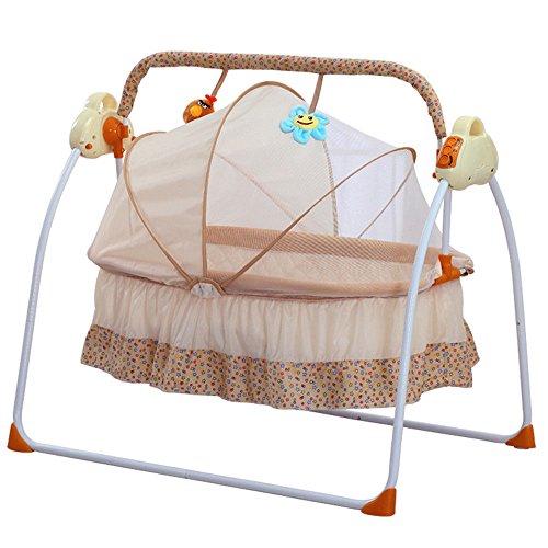 OBLLER Automatik Babyschaukel Automatische Safe Elektrische Baby-Wiege...