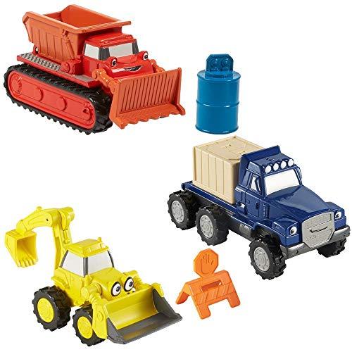 Bob der Baumeister Baustellen Spielset 3er Set   Die Cast Fahrzeuge