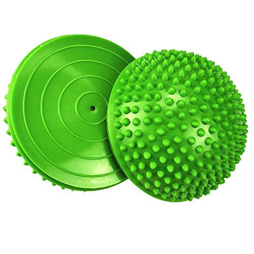 2er-Set Therapie Balance Igel, Balance-Igel Set, Fitness Halbkugel mit...