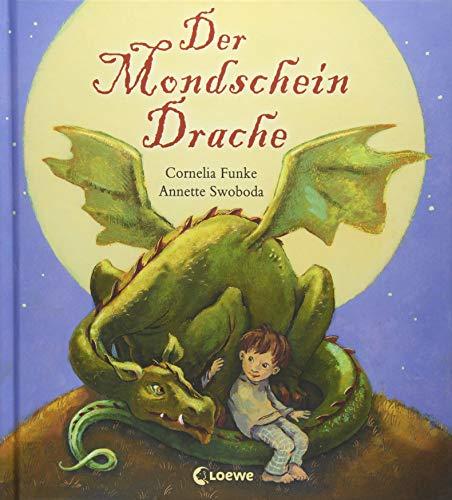 Der Mondscheindrache: Bilderbuch zum Vorlesen mit farbigen...