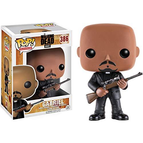 Gabriel: Walking Dead x Funko POP! TV Vinyl Figure & 1 POP! Compatible...