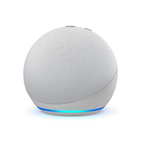 Echo Dot (4. Generation) | Smarter Lautsprecher mit Alexa | Weiß