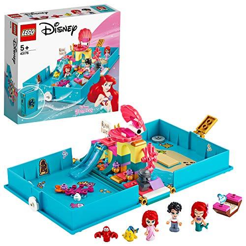 LEGO Disney Prinzessin 43176 Arielles Märchenbuch-Abenteuer