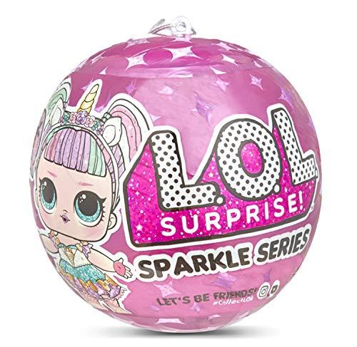 L.O.L. Surprise! 26559665E7C Surprise Doll Sparkle Series Sammelfigur mit Glitzer und 7 Überraschungen, 1 von...