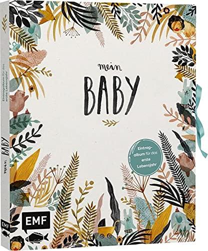 Mein Baby –Illustriertes Eintragalbum für das erste Lebensjahr...