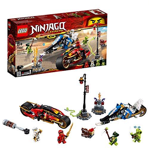 LEGO NINJAGO 70667 - Kais Feuer-Bike & Zanes Schneemobil