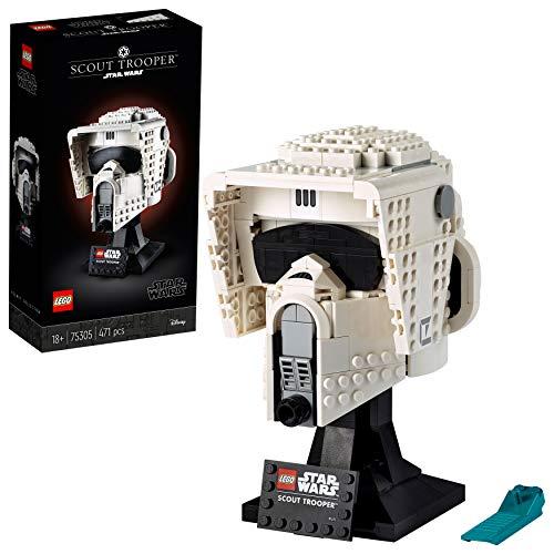 LEGO75305StarWarsScoutTrooperHelmBausetfürErwachsene...