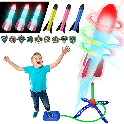 FOSUBOO Spielzeug für Draußen Rakete Spiele für...
