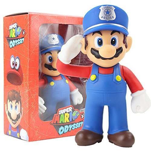 3Pcs Super Mario Worker Action Figure Sammlung Modell Spielzeug...