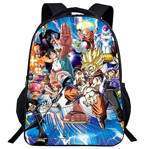Dragon Ball Backpack, Ultra Instinct Goku Z Super Sai-yain Casual...