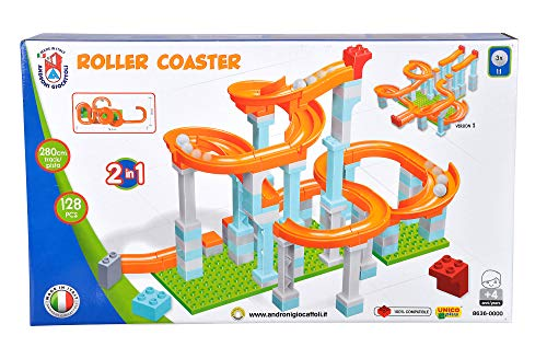 Simba 104114487, Kugelbahn, 128 Teile, für Kinder ab 4 Jahren, 3...
