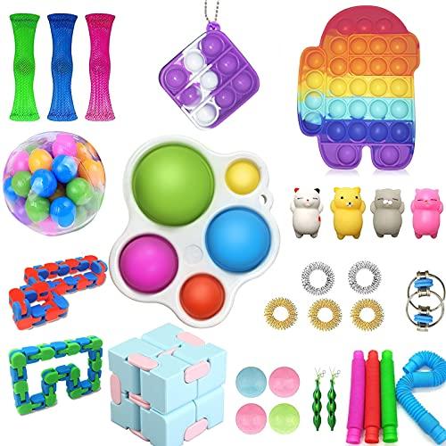 Sensory Fidget-Spielzeug-Set, 30 Stück, Stressabbau-Spielzeug,...