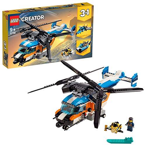 Lego 31096 Creator 3-in-1 Set: Doppelrotor-Hubschrauber, Jet oder...