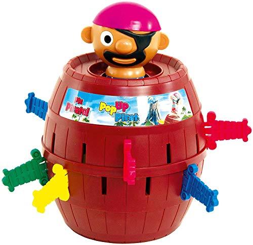 TOMY Kinderspiel 'Pop Up Pirate', Hochwertiges Aktionsspiel für die Familie, Piratenspiel zur Verfeinerung...
