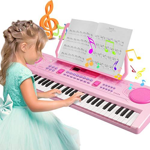 Magicfun Digital Keyboard, Digital Piano Mit 61 Tasten, Tragbare...