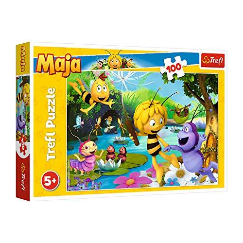 Trefl TR16361 Biene Maja und Freunde, Maya the Bee 100 Teile, für...