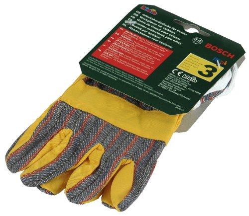 Theo Klein 8120 Bosch Arbeitshandschuhe I Hochwertige Handschuhe in Einheitsgröße I Maße: 10 cm x 1 cm x 19...