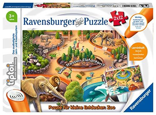 Ravensburger tiptoi Spiel 00051 Puzzle für kleine...