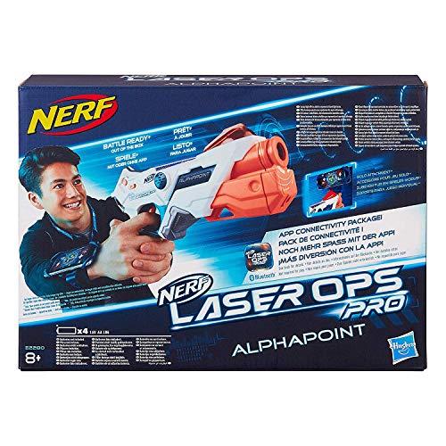 Nerf Laser Ops AlphaPoint, LaserTag-Blaster mit Licht- & Soundeffekt,...