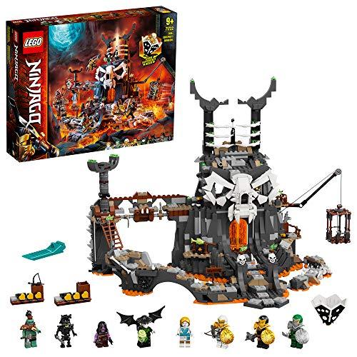 LEGO 71722 NINJAGO Verlies des Totenkopfmagiers, 2-in-1 Bauset und...