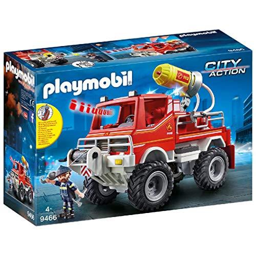 Playmobil City Action 9466 Feuerwehr-Truck mit Licht- und...