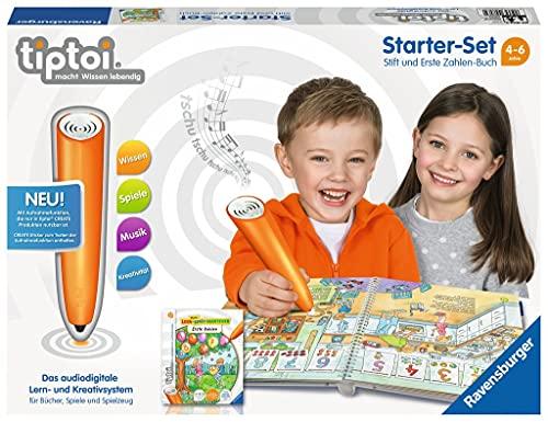 Ravensburger tiptoi Starter-Set 00803: Stift und Erste Zahlen-Buch -...