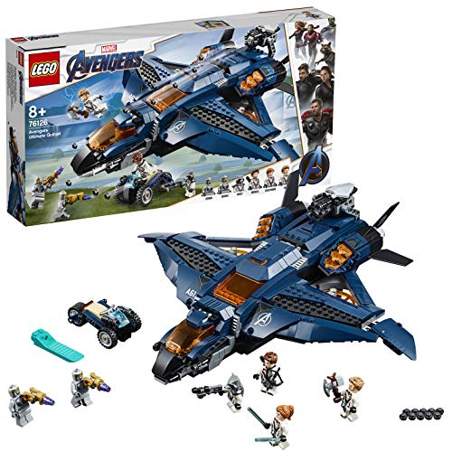 LEGO 76126 Super Heroes Ultimativer Avengers-Quinjet