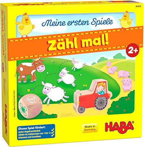 HABA 305878 - Meine ersten Spiele – Zähl mal!, Spiel ab 2 Jahren,...