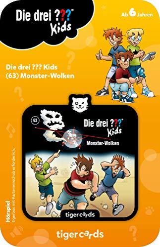 tigermedia 4148 tigercard-Die DREI Kids-Folge 63: Monster-Wolken