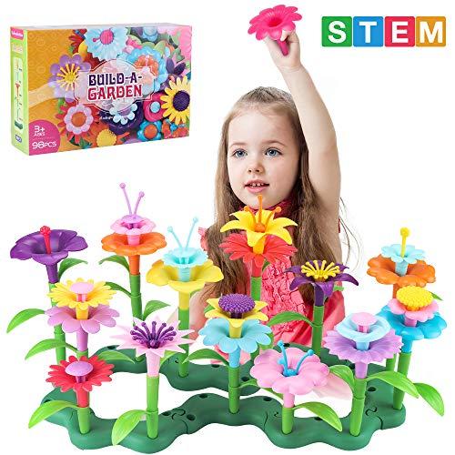 CENOVE Blumengarten Spielzeug für 3 4 5 6 jährige Mädchen,Pädagogische Spielzeug Kreative Spiele Kunst und...