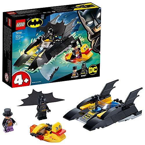 LEGO 76158 Super Heroes DC Batman 4+ Verfolgung des Pinguins – mit...